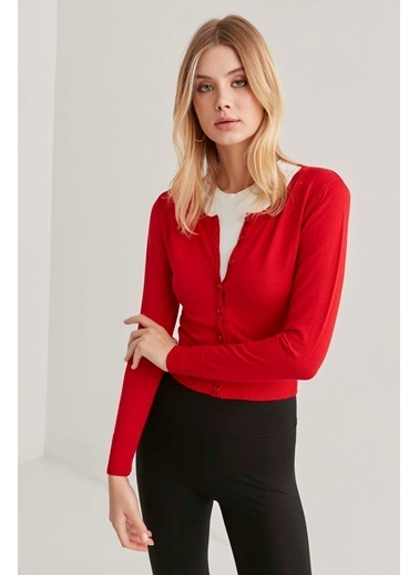 Vitrin Bluz Kırmızı